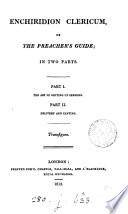 Enchiridion Clericum Book