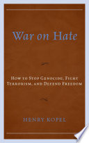 War on Hate Book