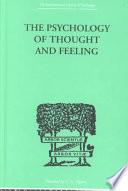 The Psychology Of Thought And Feeling