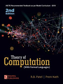 Theory of Computation  With Formal Languages