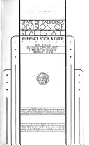 Reference Book Laws And Information Relating To Real Estate And Real Estate Licenses Book PDF