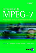 Introduction to MPEG 7