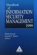 Handbook of Information Secutity Management