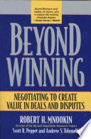 Beyond Winning