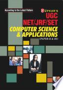 UGC NET/JRF/SET Computer Science and Applications (Paper II & III)