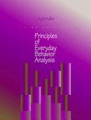 Principles Of Everyday Behavior Analysis Book PDF