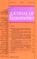JOURNAL OF ECONOMETRICS VOLUME 6