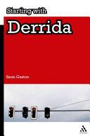 Starting with Derrida