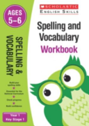 Spelling and Vocabulary Workbook  Year 1