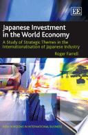 Japanese Investment In The World Economy