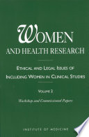 Women and Health Research Book