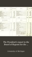 President's Report for ...