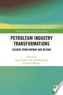 Petroleum Industry Transformations