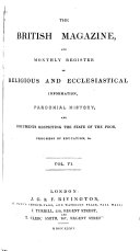 The British Magazine and Monthly Register of Religious and ...