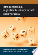 Introducción a la lingüística hispánica actual