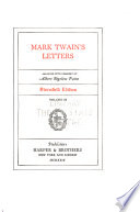 Stormfield Edition of the Writings of Mark Twain [pseud.].