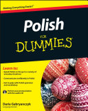Polish For Dummies Pdf/ePub eBook