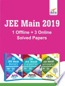 JEE Main 1 Offline + 3 Online 2018 Solved Papers