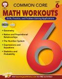 Common Core Math Workouts, Grade 6