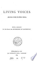 Living Voices