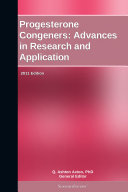 Pdf Progesterone Congeners: Advances in Research and Application: 2011 Edition Telecharger