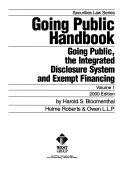 Going Public Handbook Book