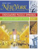 New York Magazine Crossword Puzzle Omnibus