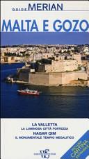 Copertina Libro Malta e Gozo. Con cartina