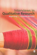 Cover of Interviews in Qualitative Research