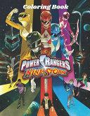 Coloring Book Power Rangers Ninja Storm