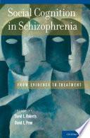 Social Cognition In Schizophrenia Book PDF