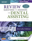 Review Questions And Answers For Dental Assisting E Book Revised Reprint