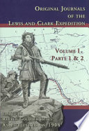 Original Journals Of The Lewis And Clark Expedition 1804 1806