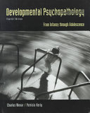 Developmental Psychopathology Book