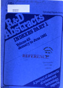 R   D Abstracts Book