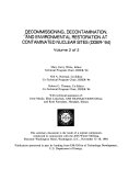 Decommissioning  Decontamination  and Environmental Restoration at Contaminated Nuclear Sites  DDER  94  Book