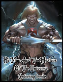 He Man And The Masters Of The Universe Coloring Book Book PDF