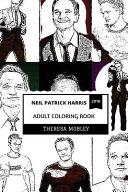 Neil Patrick Harris Adult Coloring Book