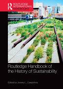 Routledge Handbook of the History of Sustainability Pdf/ePub eBook