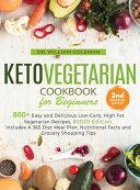 Keto Vegetarian Cookbook for Beginners