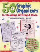 50 Graphic Organizers for Reading  Writing   More