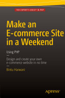 Make an E commerce Site in a Weekend