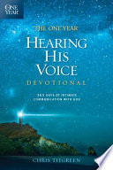 The One Year Hearing His Voice Devotional Book