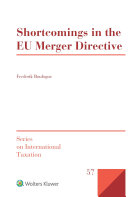 Shortcomings in the EU Merger Directive