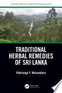 Traditional Herbal Remedies of Sri Lanka Book