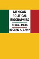 Mexican Political Biographies, 1884–1934 Pdf/ePub eBook