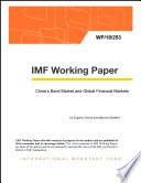 China's Bond Market and Global Financial Markets