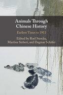 Pdf Animals Through Chinese History