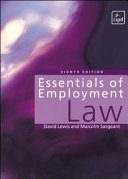 Essentials of Employment Law