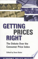 Getting Prices Right Book